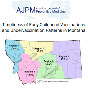 Center researchers partner with state health officials to investigate early childhood vaccination