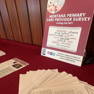 Center representatives attend Montana Academy of Family Physicians annual meeting